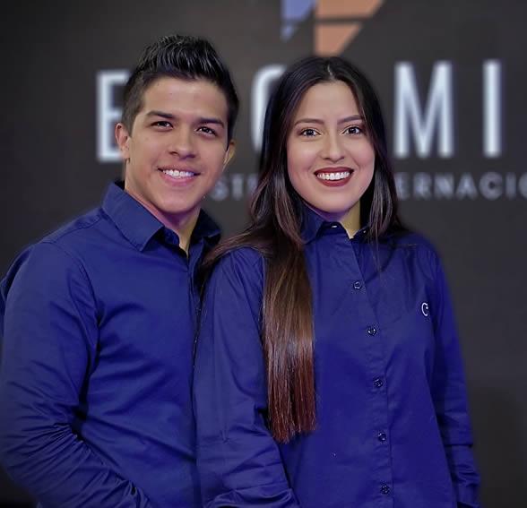 Daniel y Keyla Castro