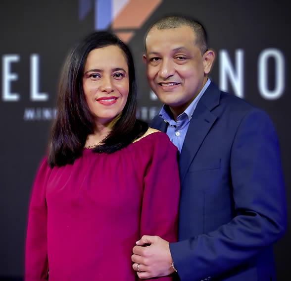 Israel y Mónica Castro